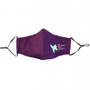 Butterfly AVM Purple Mask